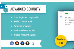 Advanced Security - Source Code sistem pendaftaran / login pengguna PHP