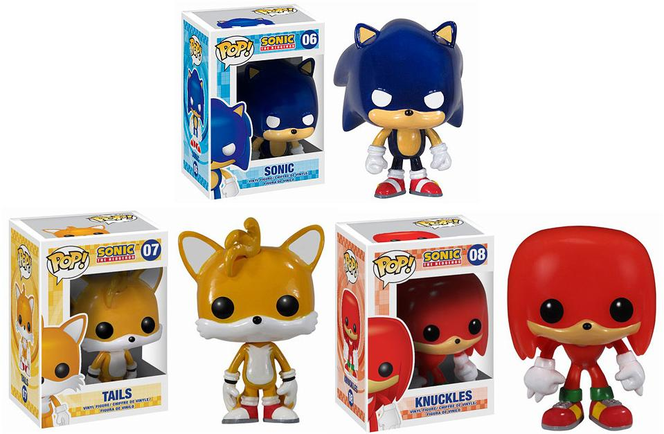 The Blot Says Sonic The Hedgehog Pop Vinyl Figures By Funko