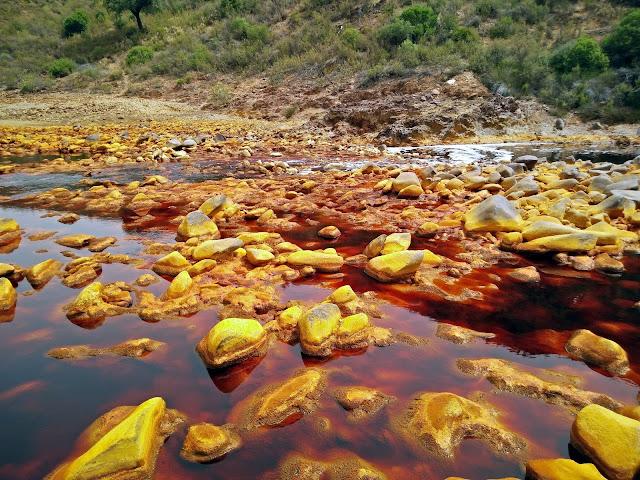 visitar el Río Tinto en Huelva