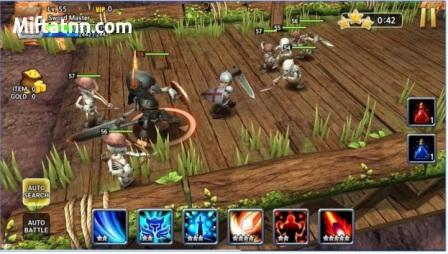 Game Petualangan RPG Online Terbaik Android Sword Storm MOD APK