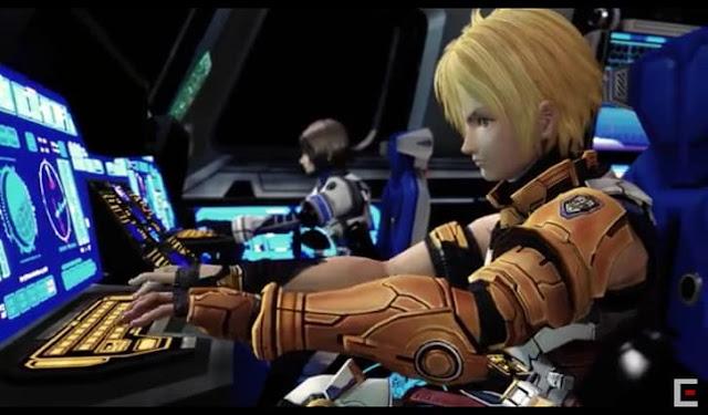 Second screenshot from Star Ocean: The Last Hope 4K and HD remaster trailer