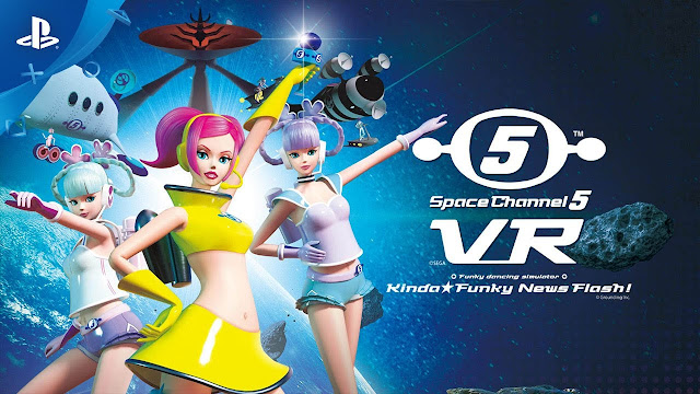 Space Channel 5 Returns on February 25th as Space Channel 5 VR: Kinda Funky News Flash!