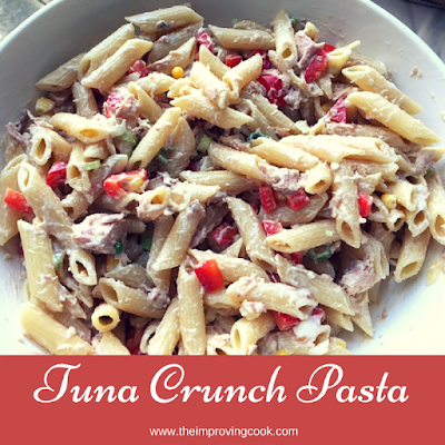 Tuna Crunch Pasta Salad