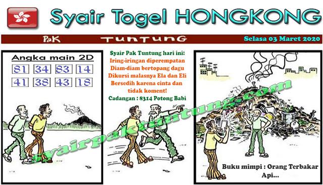 Prediksi Togel JP Hongkong Selasa 03 Maret 2020 - Prediksi Pak Tuntung