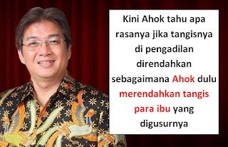 Denny JA tangis Ahok