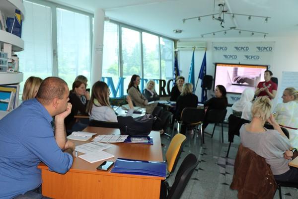 Ciklus radionica za unapređenje digitalnih kompetencija nastavnog osoblja u Kantonu Sarajevo danas završen