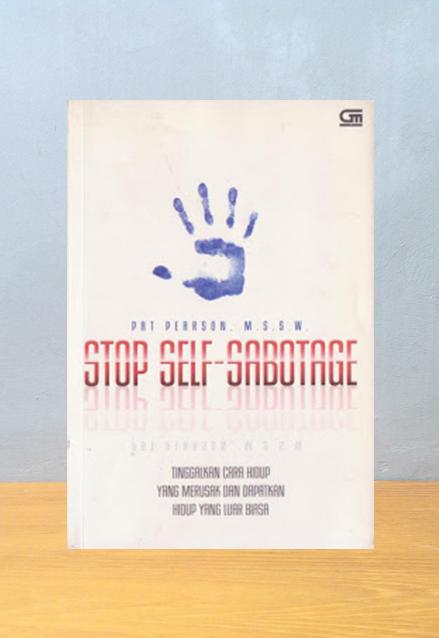 STOP SELF-SABOTAGE, Pat Pearson