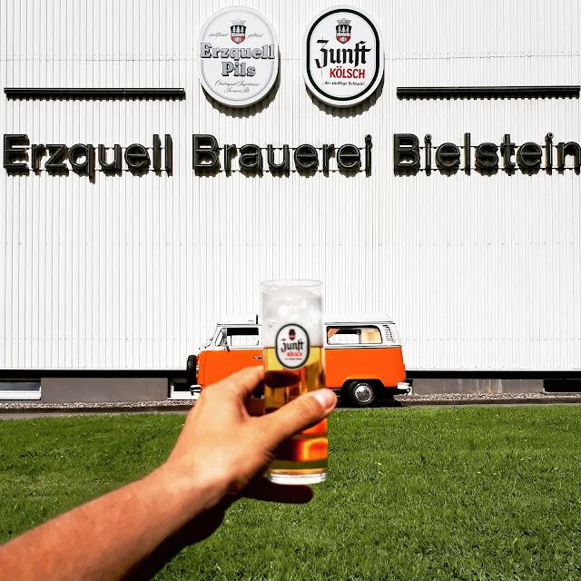 Zunft kolsch brewery erzquell brauerei bielstein in NRW Germany