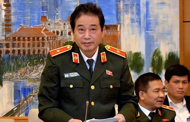 Tướng Lê Đình Nhường - nguyên Giám đốc Công an tỉnh Thái Bình bị miễn chức đại biểu QH