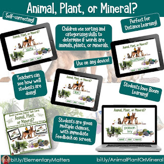 https://www.teacherspayteachers.com/Product/Distance-Learning-Animal-Plant-or-Mineral-BOOM-Digital-Task-Cards-5509409?utm_source=categoriical%20thinking%20blog%20post&utm_campaign=Animal%20plant%20or%20mineral