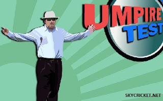 Play online Umpire Test cricket game