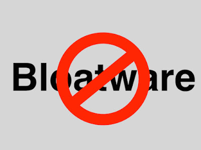 What is Bloatware, windows, android
