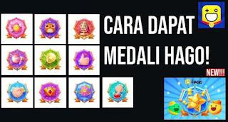 Cara Mendapat Medali di Hago