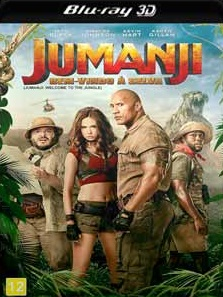 Jumanji – Bem-Vindo à Selva 2018 – Torrent Download – BluRay 3D Half-SBS 1080p 5.1 Dual Áudio