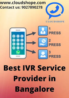 Best IVR Service Provider in Bangalore, CloudShope Technologies, IVR Service Provider