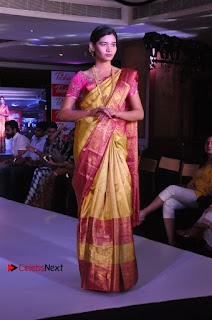 South Indian Celebrities Pos at Love For Handloom Collection Fashion Show  0036.jpg