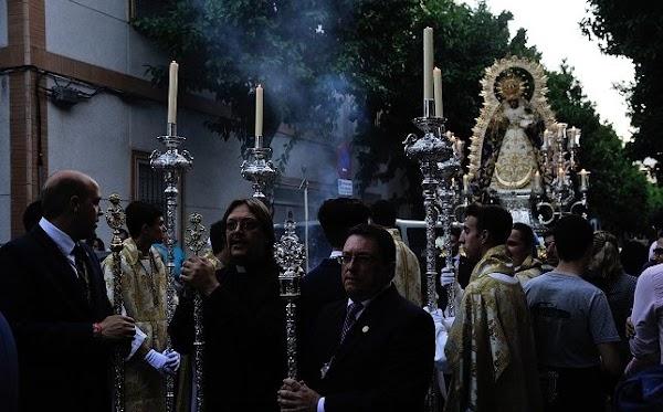 Suspendida la procesión del Rosario del barrio León por el Covid-19