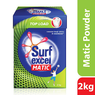 Surf Excel Matic Top Load Detergent Powder (2kg) + 37% Off At Only Rs 283