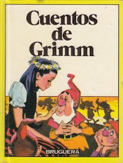 Cubierta de Cuentos de Grimm Ediciones Bruguera
