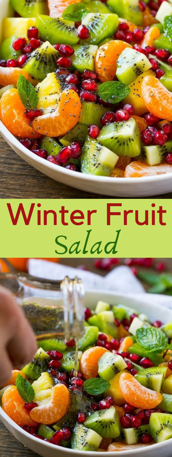 WINTER FRUIT SALAD #salad #diet