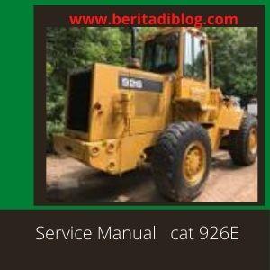 CAT 926E Service Manual Wheel loader Caterpillar