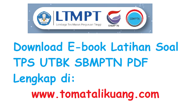latihan soal kunci jawaban pembahasan tps utbk sbmptn pdf tomatalikuang.com