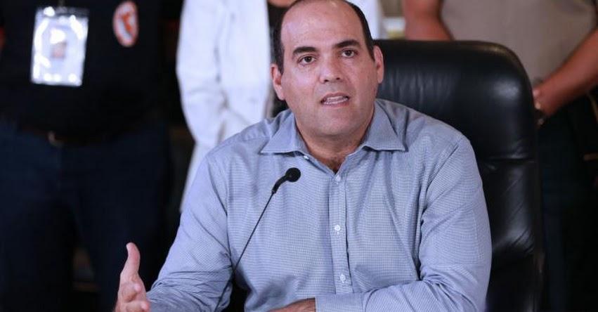 Derogar D. L. N° 1323 fue un grave error y un retroceso, afirma el presidente del Consejo de Ministros, Fernando Zavala