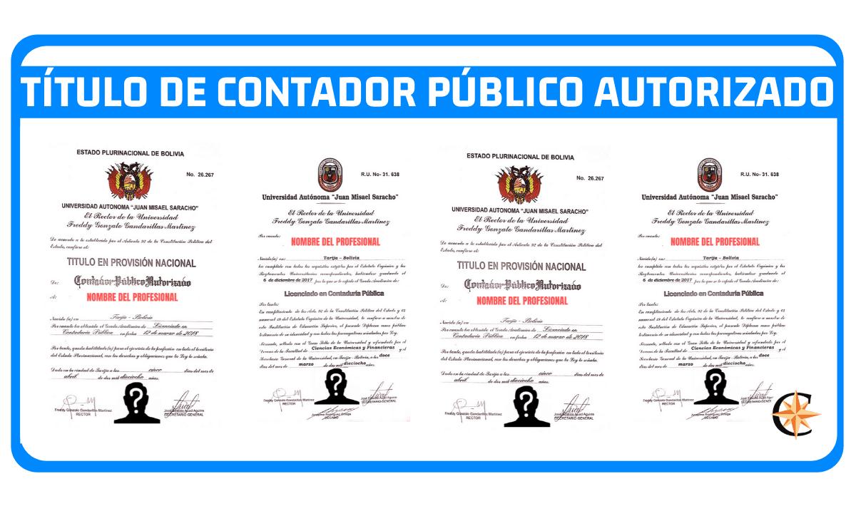 Título de Contador Público Autorizado