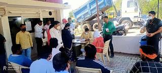 आयुष मंत्री श्री रामकिशोर नानो कावरे ने सुनी आमजनों की समस्यायें