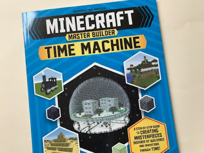 Minecraft Master Builder Time Machine book