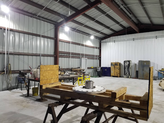 Case Sharing-New Maintenance Shop in Louisiana Petrochemical Plant_Explosion Proof Lighting_3