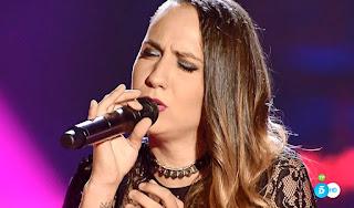 Maria La Caria canta Stay de Rihanna la voz -asaltos