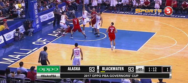 Blackwater def. Alaska, 111-106 in 2OT (REPLAY VIDEO) August 23