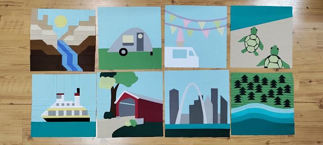 Quilt Along: Destination quilt blocks