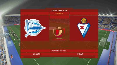 PES 2019 Scoreboard Copa Del Rey 2019 by Hova_Useless