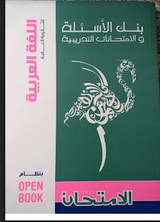 كتاب الامتحان المراجعة النهائية في اللغه العربيه للصف الثالث الثانوي 2021، نماذج امتحانات بوكليت لغة عربية ثانوية عامة