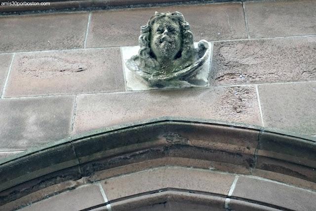 Puerta del Querubín de Trinity Church, Nueva York