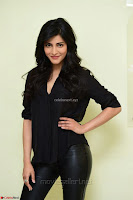 Shruti Haasan Looks Stunning trendy cool in Black relaxed Shirt and Tight Leather Pants ~ .com Exclusive Pics 019.jpg