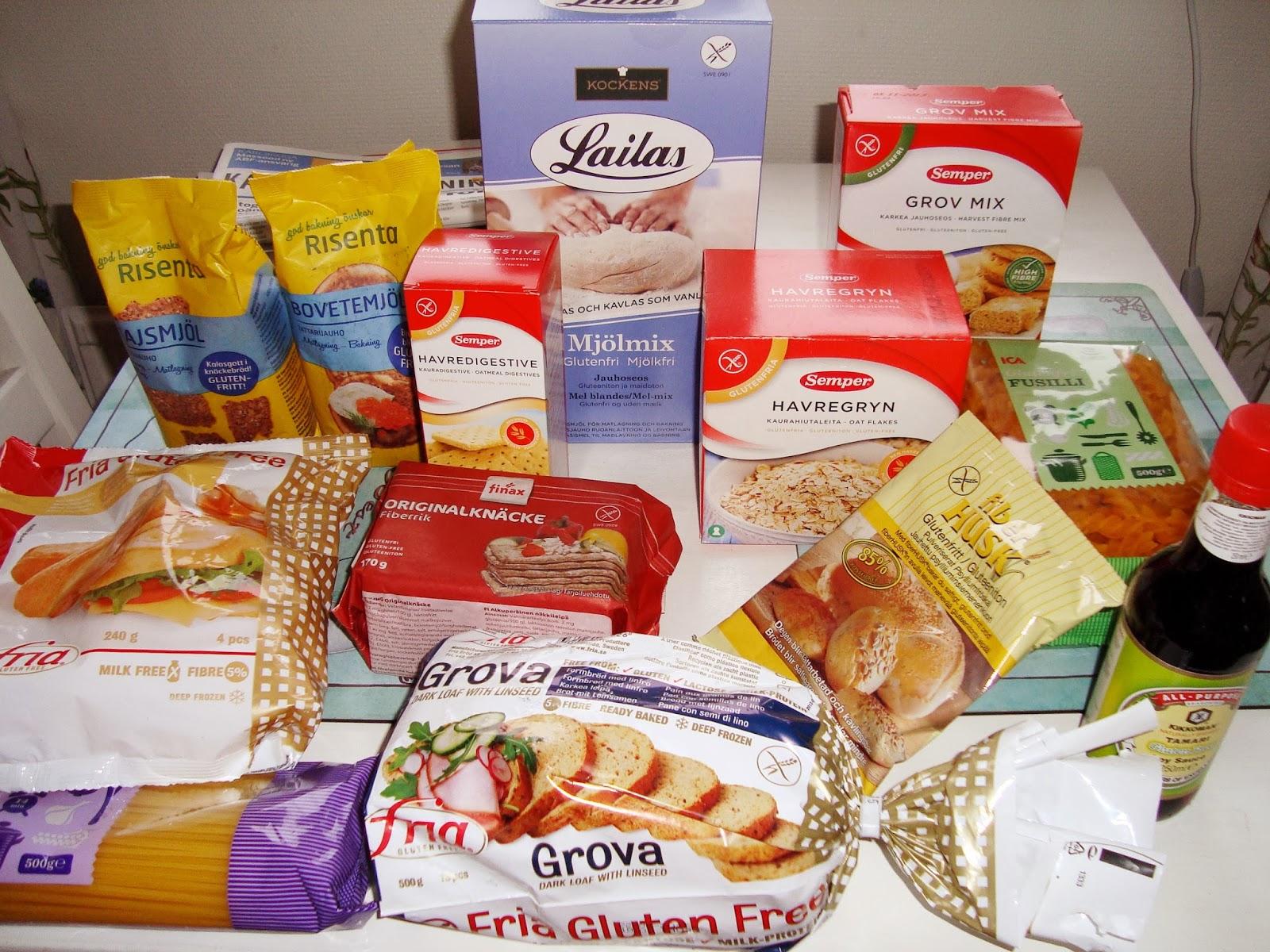 glutenfri och laktosfritt bröd