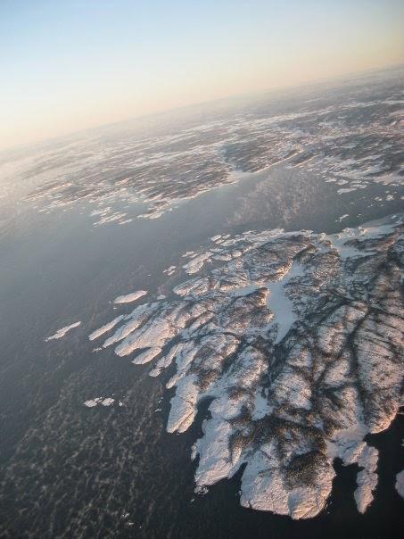 Oslo desde las nubes