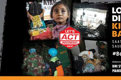 Musibah Gempa Di Lombok Ini Rek Donasi Yang Bisa Di Percaya