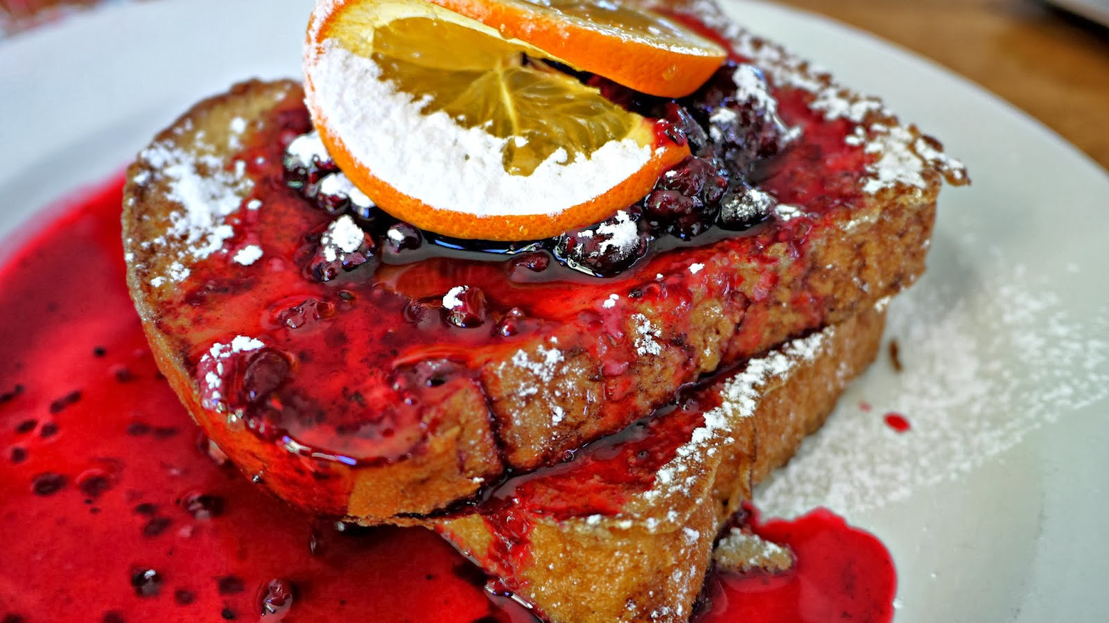 French Toast at The Kiosk on Floreat Beach