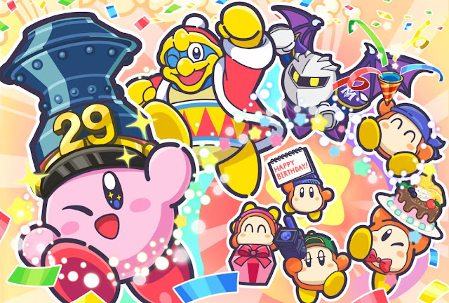 Kirby completa 29 anos