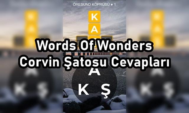 Words Of Wonders Corvin Şatosu Cevaplari