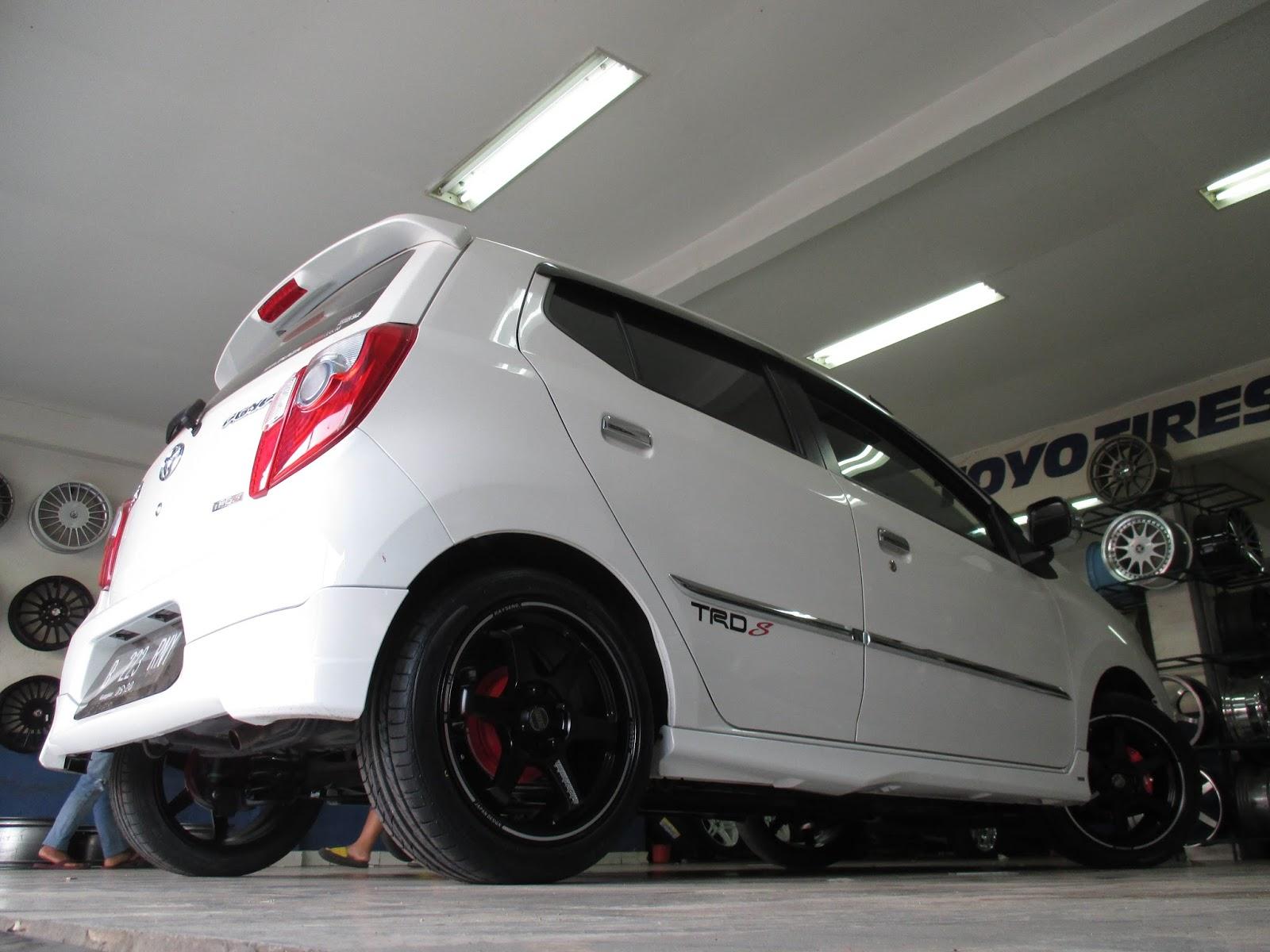 Warna New Agya Trd Grand Avanza 1300cc Modifikasi Mobil Bagian Velg Knalpot Lampu Dan Jok