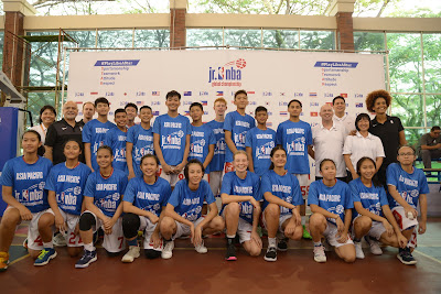 Four Filipinos to Represent Asia Pacific at Jr. NBA Global Championship