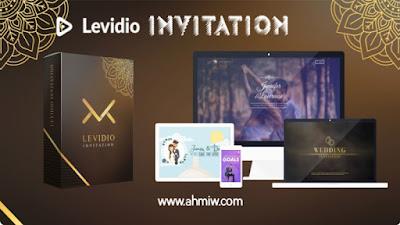Template invitation dari levidio