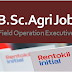 Field Operations Executive | B.Sc.Ag. MNC Job