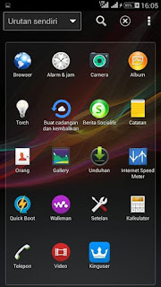 CUSTOM ROM - XPERIA Z ULTRA [ Mt6582 ] Evercoss Winner Y A76