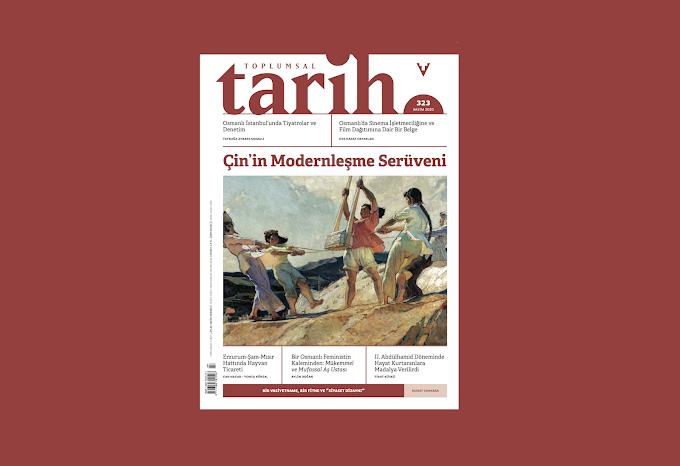 Toplumsal Tarih Dergisi'nin Kasım Sayısı Çıktı